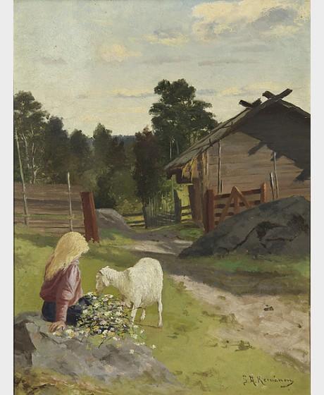 Keinänen, Sigfrid August