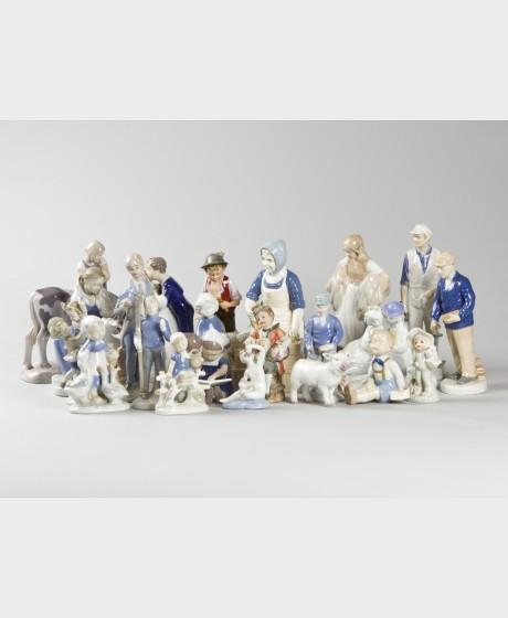 Figuriineja, 22 kpl
