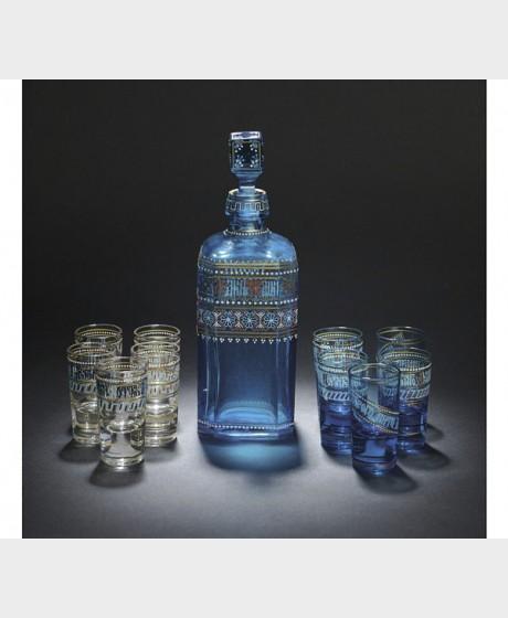 Vodkakarahvi ja snapsilaseja, 10 kpl