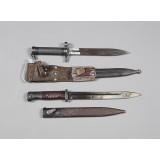 Pistimiä, 2 kpl, Mauser m/96 ja K98k