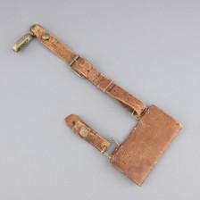 Nahkainen miekankannike, 1800-luvun loppu