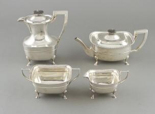 Kahvi- ja Teekalusto, 4 osaa