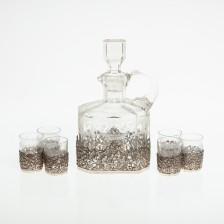 Viinakarahvi ja 6 lasia