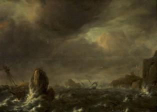 Bonaventure, Peeters (1614-1652), (Flanderi/Flandern/Flanders), tyyli/stil/in the Manner of