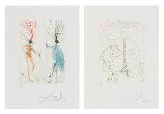 Salvador Dalí, 2 kpl*