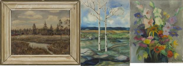 A. Ahola, Raudsepp ja maalaus