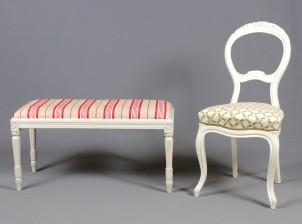 Taburetti ja tuoli