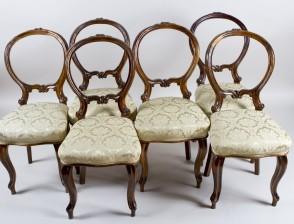 Tuoleja, 6 kpl
