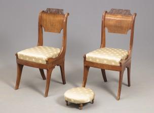 Tuoleja, 2 kpl ja rahi