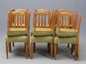 Tuoleja, 12 kpl