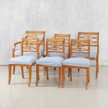 Nojatuoleja, 2 kpl ja tuoleja, 4 kpl