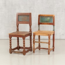 Tuoleja, 1700-luku, 2 kpl.