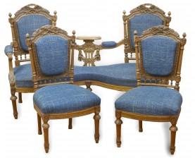 Sohva ja tuoleja, 2 kpl