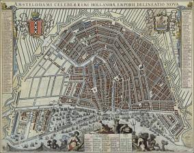 Amsterdamin kaupunkikartta