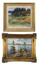 U. Willgren ja akvarelli
