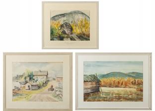 Viivi Schrowe-Kallio, Torsten Tisell ja akvarelli