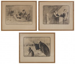 Honore Daumier, 3 kpl