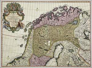 Pohjoiskalotin kartta