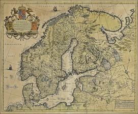 Pohjois-Euroopan maiden kartta
