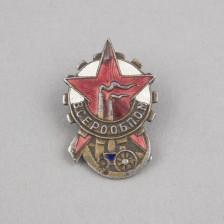 Neuvostoliiton sotainvalidiliiton merkki, 1930-luku