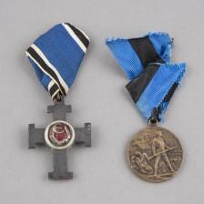 Viron Vapaudenristin II luokka, 3. aste + Viron Vapaussodan mm.
