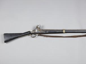 Jalkaväen piilukkomusketti m/1808 pistimineen