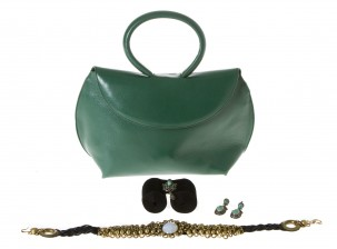 Käsilaukku, La Bagagerie, ja erä pukukoruja