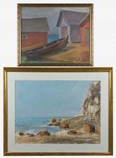 B-G Fohlin ja maalaus