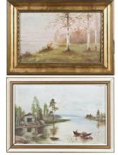 Nikolai Tervakorpi ja maalaus