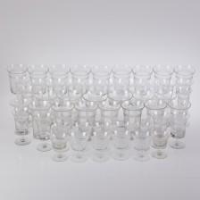 Erä lasia, noin 50 kpl