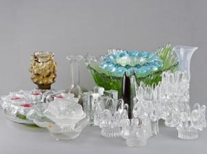 Erä lasia ja taidelasia
