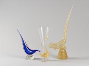 Figuriineja, 2 kpl ja pikari