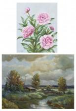Matti Pitkänen ja maalaus