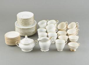 Kahvi- ja mokka-astiasto 10+12