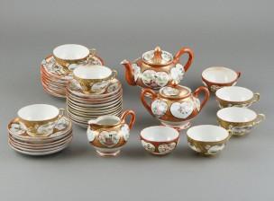 Teekalusto, n. 36 osaa