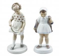 Figuriineja, 2 kpl, Tyttöjä