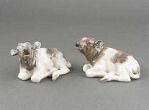 Figuriineja, vasikkapari