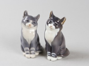 Figuriineja, 2 kpl, Kissat