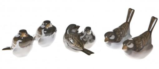 Figurineeja, 5 kpl