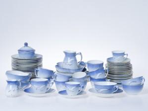Kahvi-, mokka- ja teeastiasto 6 hengelle
