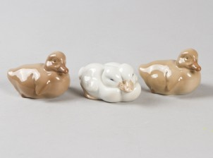 Figuriineja, 3 kpl, Ankanpoikasia