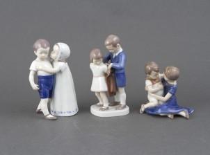 Figuriinejä, 3 kpl, Lapsia