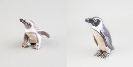 Figuriinejä, 2 kpl (Pingviinejä)