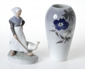 Figuriini ja maljakko