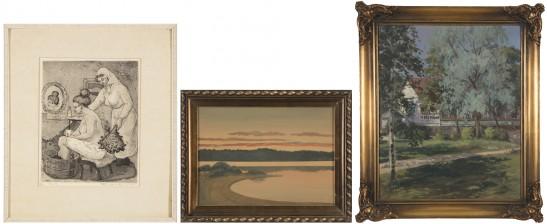 T. Haili, W. Alanko ja maalaus*