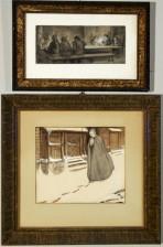 Edelfelt, Albert (1854-1905), 2 kpl/st/pcs