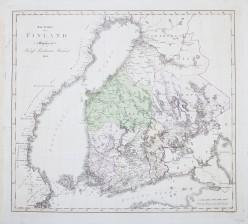 Wäg-Karta öfver Finland