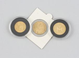 Kultarahoja, 3 kpl