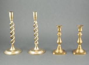 Kynttilänjalkoja, 2 paria