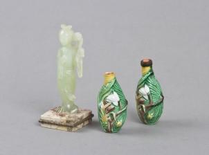 Figuriini ja nuuskarasioita, 2 kpl